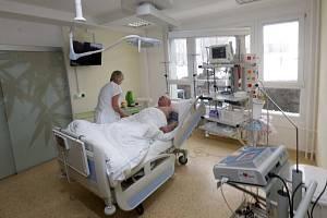 Kardiologické oddělení olomoucké fakultní nemocnice. Ilustrační foto