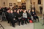 Slavnostní zakončení prací na rekonstrukci vnitřních prostor katedrály sv. Václava