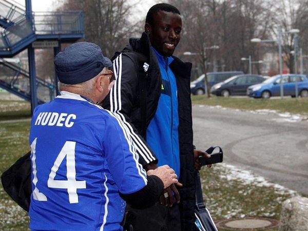 Abdoulaye Fall. Odjezd fotbalistů Sigmy na soustředění do Turecka