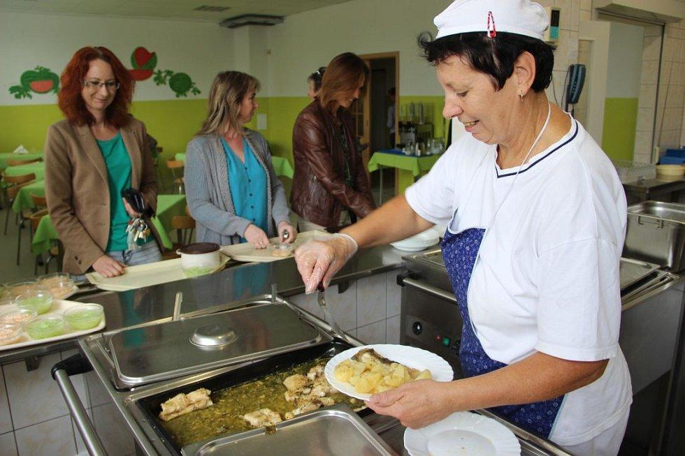 Školní jídelna v Kojetíně
