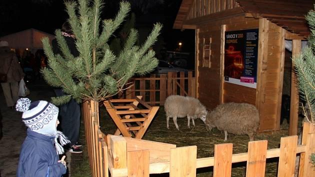 Vánoční trhy na výstavišti Flora