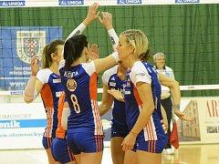 Volejbalistky VK UP Olomouc. Ilustrační foto