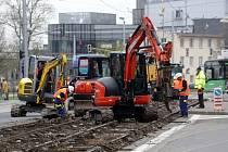 Rekonstrukce třídy Svobody v Olomouci. Ilustrační foto