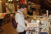 Čtvrtý ročník knižního veletrhu LITR v Olomouci.