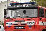 Hasičské mistrovství ČR ve vyprošťování u dopravních nehod u OC Šantovka v Olomouci, 5. 10. 2019
