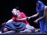 Opera Bohuslava Martinů ŘECKÉ PAŠIJE v Moravském divadle Olomouc. Se souborem opery a operety na přípravě spolupracuje režisér Jan Antonín Pitínský.