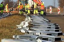 Oprava nevyhovujících svodidel na R46