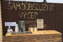 Velkorakovský minipivovar - samoobslužný výčep v Rakové u Konice