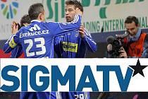 Nové logo Sigma TV. Koláž DENÍK