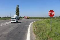 Nehoda motorkáře mezi Velkým Týncem a Grygovem, 25. 6. 2019