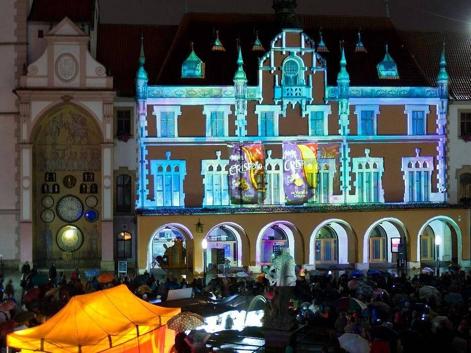 Festival VZÁŘÍ v centru Olomouce