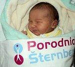 Eliška Štenclová, Rýžoviště, narozena 2. prosince ve Šternberku, míra 50 cm, váha 3190 g