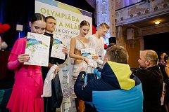 Sourozenci Borůvkovi na dětské olympiádě