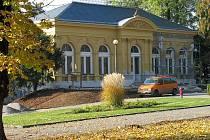 Oprava restaurace Fontána ve Smetanových sadech