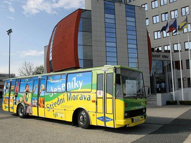 Infobus Olomouckého kraje