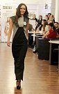 Natálie Fajtová, Střední školy designu a módy, Prostějov. Představení finalistek Miss OK 2016 v Beauty Café v Olomouci