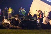 Tragická nehoda na Bludovském kopci, srážku passatu s dodávkou nepřežili dva mladí lidé