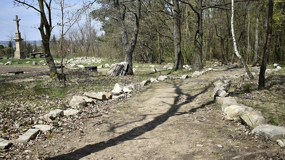 Trailové Hanácké stezky na Záhoří se už začínají rýsovat. 29. dubna 2021