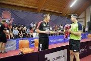 V Olomouci začala hlavní soutěž prestižního mezinárodního podniku Czech Open ve stolním tenise