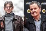 Režiséři Jiří Strach a Miroslav Krobot