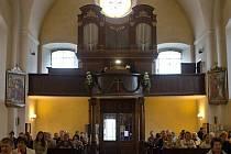 Zrestaurované varhany v kapucínském kostele na Dolním náměstí v Olomouci