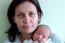 Jonáš Maté, Šternberk, narozen 2. března ve Šternberku, míra 46 cm, váha 2850 g.