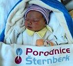 Daniel Kylar, Olomouc, narozen 23. dubna ve Šternberku, míra 52 cm, váha 3750 g