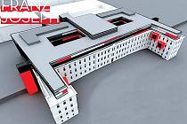 Vizulizace rekonstrukce budovy Františka Josefa v olomoucké fakultní nemocnici