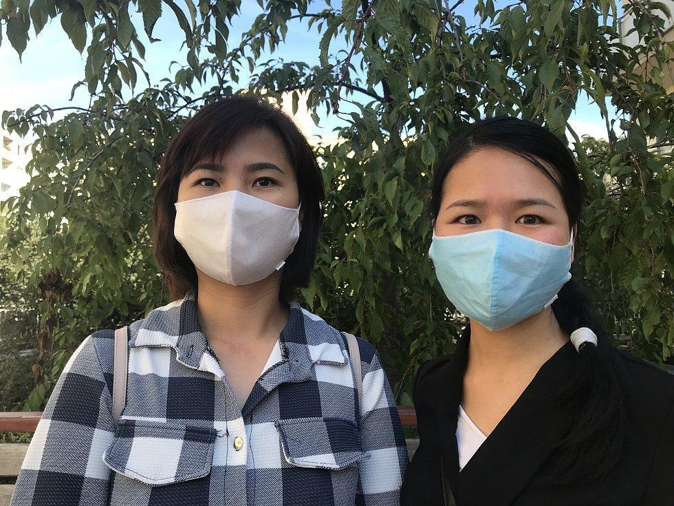 Linh Duongová (vpravo) a Minh Nguyêt Ngô.