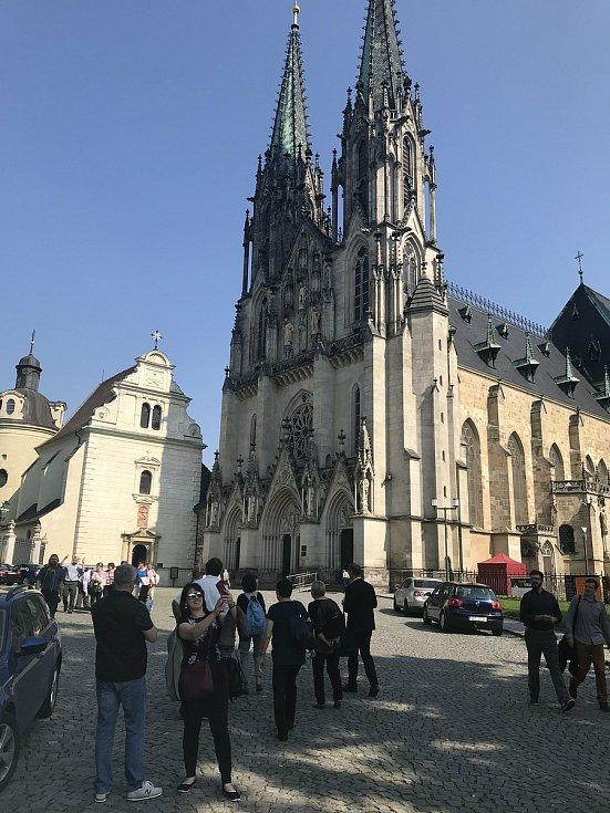 Katedrála sv. Václava, 12. září 2020
