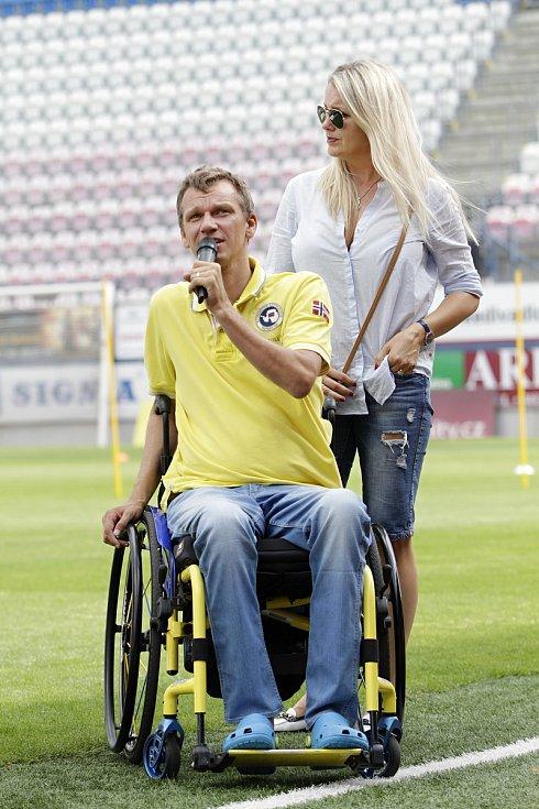 Podnikatel Lukáš Urbanec, generální partner Olomoucké fotbalové školy,
