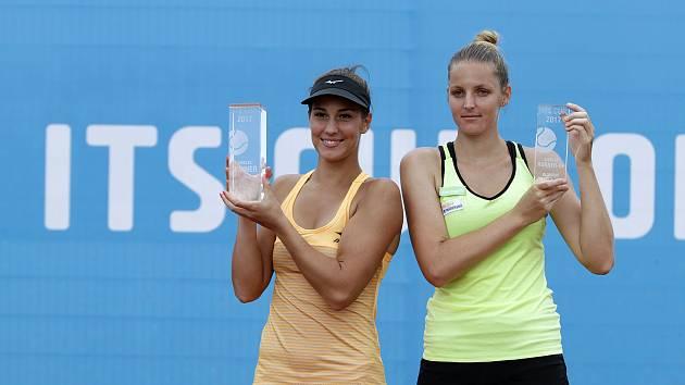 Na olomouckém turnaji ITS CUP se hrálo finále dvouhryBernarda Peraová (vlevo) a Kristýna Plíšková