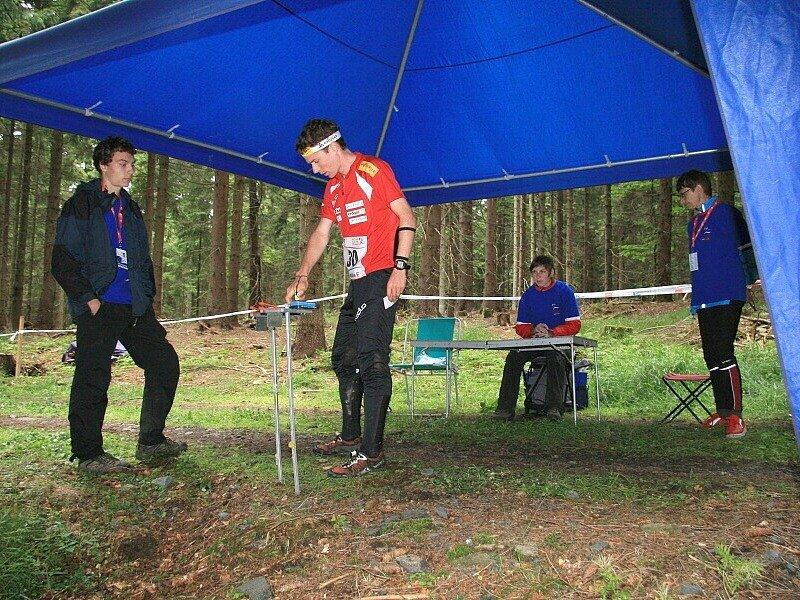 Daniel Hubmann ze Švýcarska skončil ve čtvrtek na 4. místě.