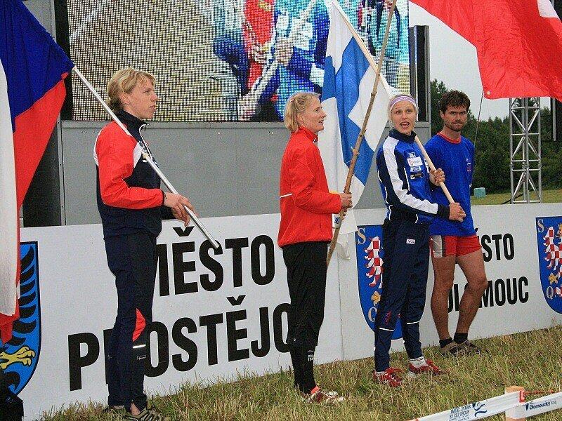 Brožová získala bronz (vlevo).