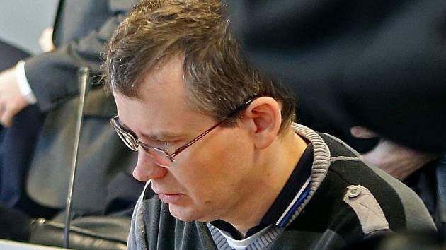 Tomáš Březina u olomouckého soudu