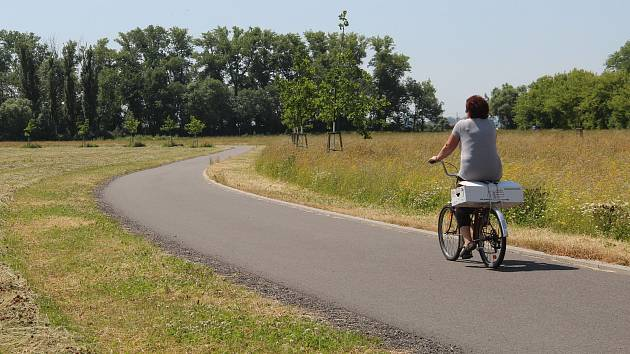 Nová cyklostezka v k rybníkům v Holickém lese vznikne ještě letos. Do budoucna se počítá také s dětských hřištěm, venkovní posilovnou a fitstezkou s in-line okruhem.