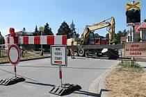 Oprava železničního přejezdu v Olomouci v ulici Rooseveltova