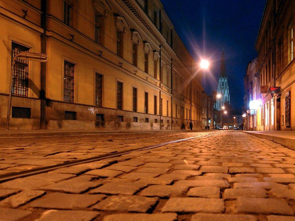 Třída 1. máje v Olomouci