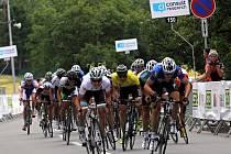 Czech Cycling Tour v okolí Olomouce. Ilustrační foto