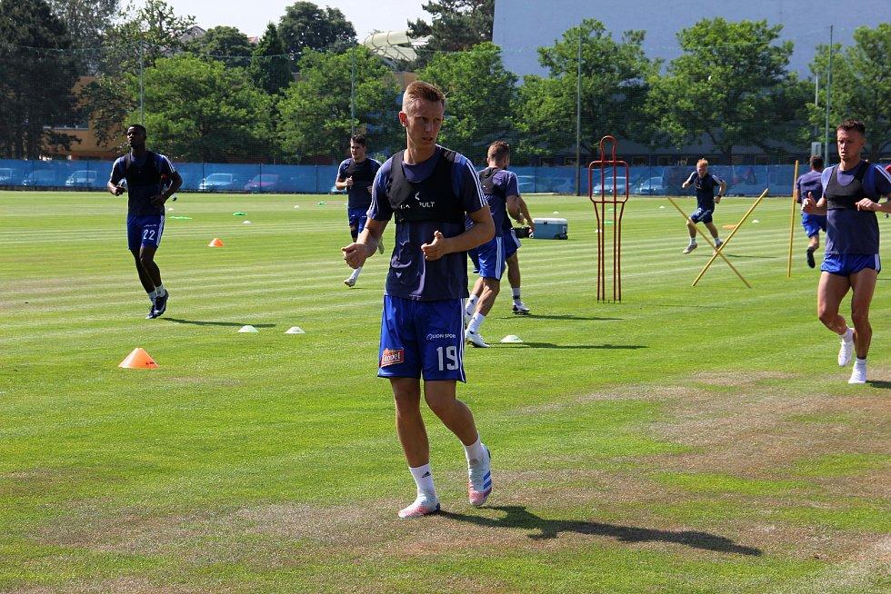 Fotbalová Sigma Olomouc zahájila přípravu na novou sezonu.Radek Látal