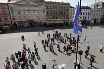 V Olomouci se veřejně četla jména zavražděných olomouckých občanů transportovaných do koncentračních táborů