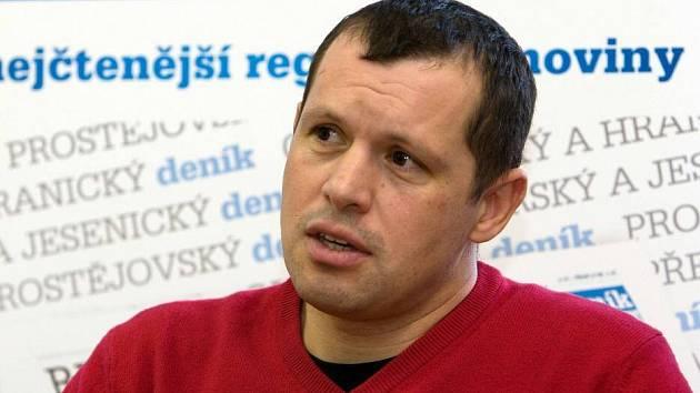 Provozovatel Ski areálu Kouty Michal Kestl při on-line rozhovoru pro Olomoucký deník