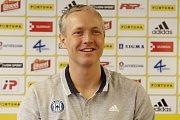 Václav Jílek, trenér. Fotbalový klub Sigma Olomouc představil nového sponzora a hodnotil situaci před jarní částí sezony