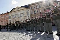 Festival vojenských hudeb v Olomouci. Ilustrační foto