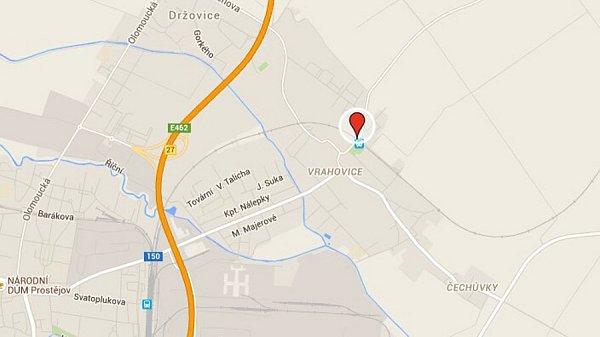 2) Prostějov-Vrahovice, Majakovského ulice