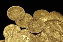 Uničovský zlatý poklad, detail