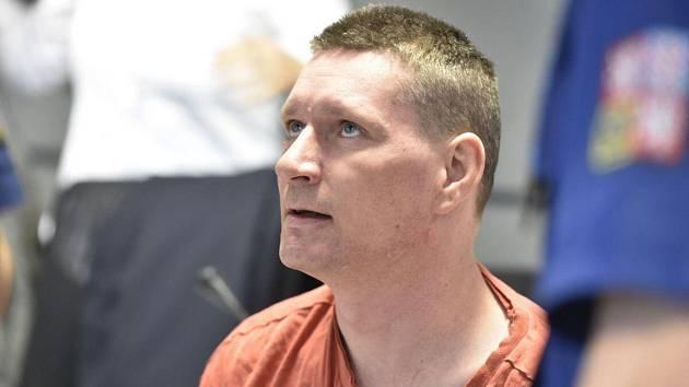 Obžalovaný René Bučan u krajského soudu v Olomouci
