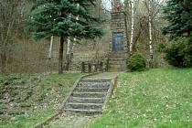 Památník obětem událostí z konce války na Bunči na Kroměřížsku