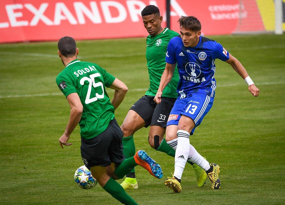 Fotbalisté Olomouce prohráli doma s Příbramí 1:2. Mojmír Chytil