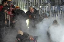 Fanoušci na zápase Sigma - Sparta.